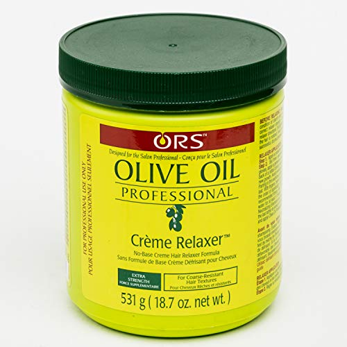 Organic Root Stimulator Crème Défrisante Relaxer Normal Olive Oil Professional 532g