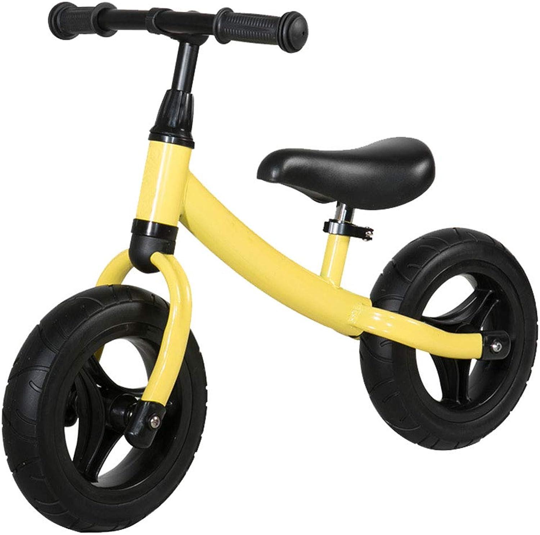 LINBAI Enfants   Voiture Glisser bébé bébé pédale vélo 2-6 Ans Enfant yo-yo,jaune