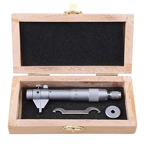 CLJ-LJ Micrómetro interior de 5 a 30 mm, medidor de precisión de 0,01 mm, indicador de agujero, instrumento de medición de micrómetros (color: plata)