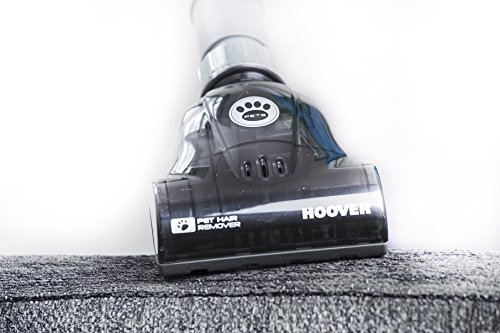 Hoover Breeze Evo Pets Bagless Upright Vacuum Cleaner, TH31BO02, Long Reach, 3L Bin, Lightweight, Adjustable - Green