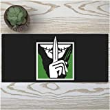 DMWSD Mouse Pad Table Mat Tom Clancy's Rainbow Six Siege Game Character Icon Defensive Officer Caveira Interrogation Oversized Non-Slip Professional Gaming Mouse Pad for Desk Laptop PC