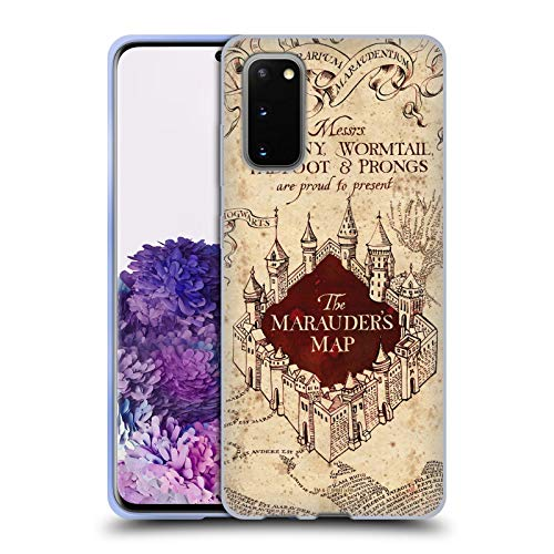 Head Case Designs Officially Licensed Harry Potter The Marauder's Map Prisoner of Azkaban II Soft Gel Case Compatible with Samsung Galaxy S20 / S20 5G