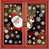 🎅 Materiale: i nostri natale adesivi decorazione sono realizzati con adesivi in PVC, atossici, ecologici e impermeabili. 🎅 Dimensioni adesivo di natale: 21.5 * 32 cm (4 fogli). Le dimensioni perfette sono perfette per la decorazione natalizia. 🎅 Desi...