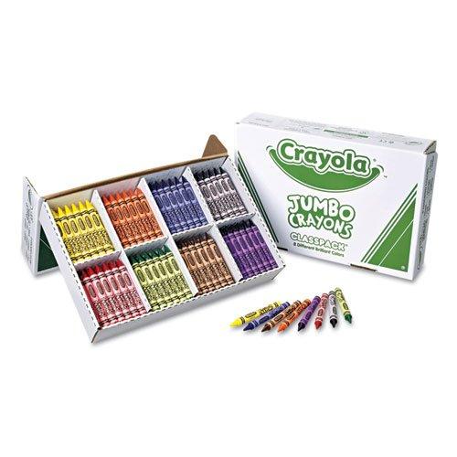 CYO528389 - Jumbo Classpack Crayons