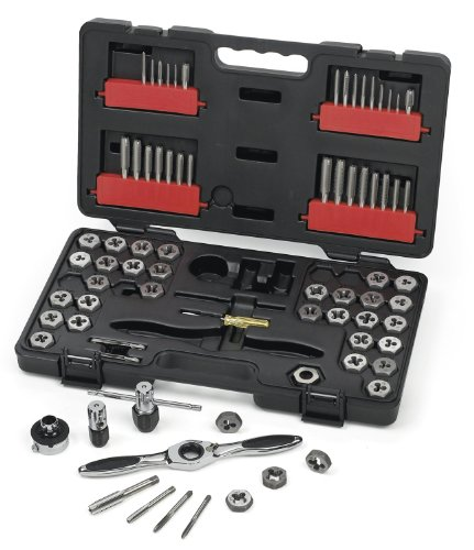 $83 GEARWRENCH 75 Pc. Ratcheting Tap and Die Set, SAE/Metric - 3887 - - Amazon.com $83