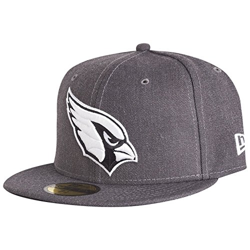 New Era 59Fifty Cap - Graphite Arizona Cardinals Gris
