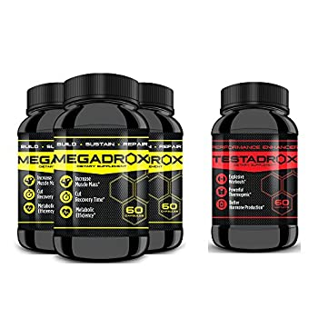 MEGADROX - Buy 2 Get 1 Free Plus 1 Bottle of Testadrox 50% Off! Explosive Workouts! Build Sustain Repair and Experience The MEGADROX Difference!