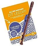 Flauta dulce tenor Classic Cantabile Bellissima en óptica de madera con manual...