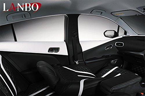 プリウス 50系【 LANBO ランボ 】ドアレザーパネル [プリウス50系] [カラー]ブラック×...