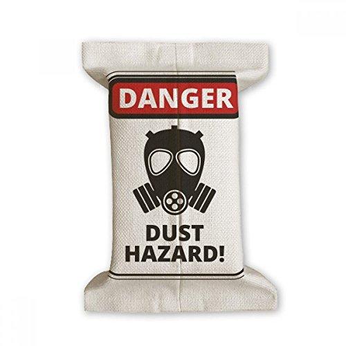 DIYthinker Danger Symbool Stof Gevaar Waarschuwingsborden Tissue Paper Cover Katoen Linnen Houder Opslag Container Gift