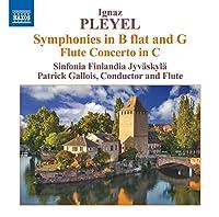 Symphonies in B Flat & G/Flute Concerto in C