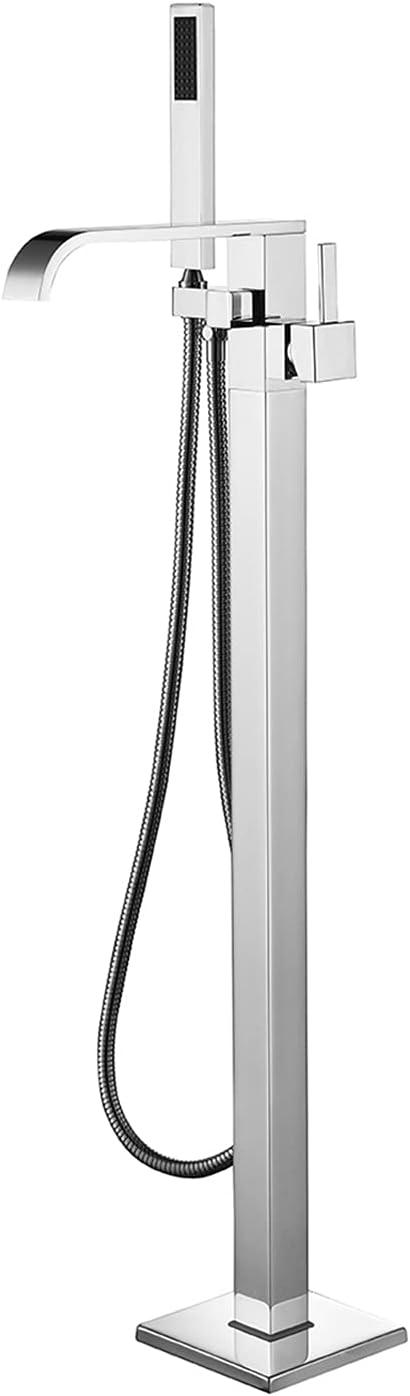 Super-cheap Sevenfalls 8015 New popularity Floor Mount Freestanding Faucet Single Bathtub H