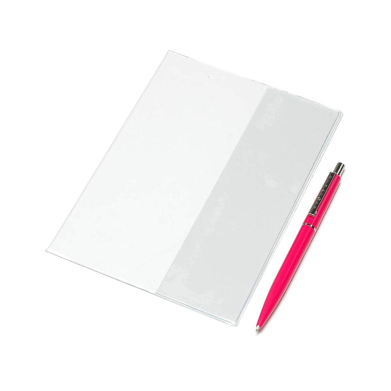 アパートイースター引退したエトランジェディコスタリカ ノートカバー B6 手帳カバー&シャープペン ピンク MPCSET-B6-11