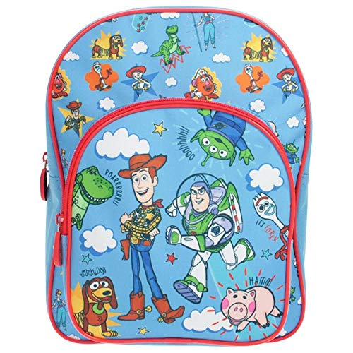 Disney Toy Story 4 Character Backpack Woody Buzz Lightyear Forky Sky Blue