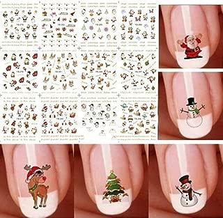 christmas hello kitty nails