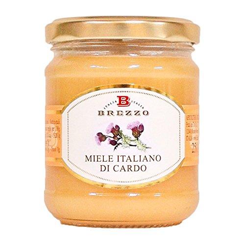 BREZZO 非加熱 イタリア産天然はちみつ(アザミ)250g