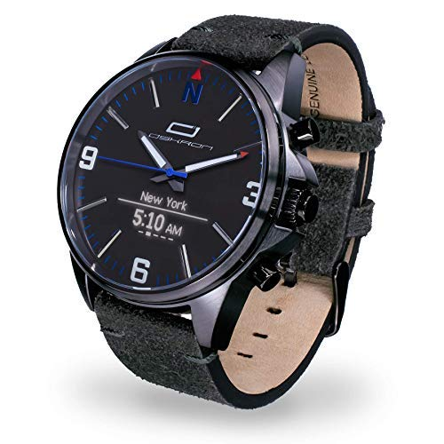 OSKRON Pulsera para Hombre Gear con Funciones de Reloj Inteligente 7000012