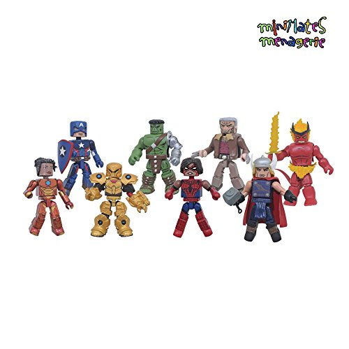 Marvel Minimates Best of Series 1 Jeu Complet