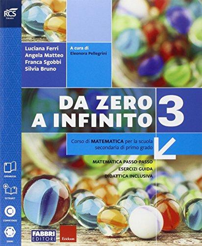 Da zero a infinito. Extrakit-Openbook-Quaderno. Per la Scuola media. Con e-book. Con espansione online: 3