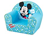 Lulabi Disney Mickey, Poltroncina morbida, Azzurro, 18+ mesi