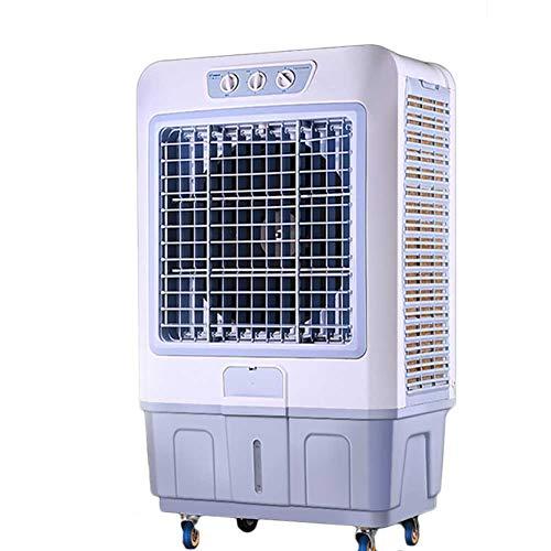 Lapden Enfriador de Aire evaporativo - Humidificación eléctrica móvil portátil - Enfriadores de Aire industriales - Fans comerciales de Aire Acondicionado, Tanque de Agua 80L
