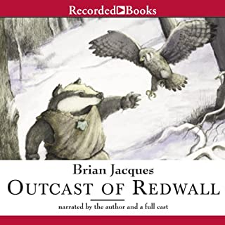 Outcast of Redwall audiobook cover art