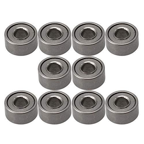 2x5x2,5mm Lager Stahl Metall Miniatur Mini Kugellager Micro Bearings MR52ZZ Packung von 10 Stück