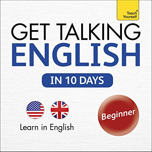 Get Talking English in Ten Days: Learn in English audiobook cover art