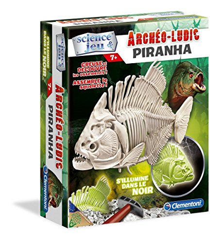 Clementoni - 52071.8 - Archéo Ludic' Piranha