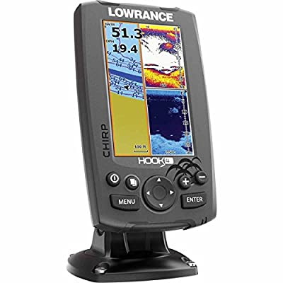 Lowrance Hook-4 Sonar/GPS Mid/High/Downscan Fishfinder