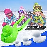 Bloomma Winter Schneeball Maker Spielzeug, Entenform edealing Perfect Outdoor Play Schnee Spielzeug...
