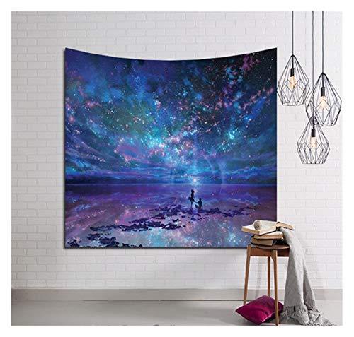 MYBHD Galaxy Pared de Colgante de la tapicería (Color : T1, Size : 150cmx100cm)