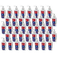 40-Pack SupplyAID CS-RRS-HS8 Bulk Case of 8-OZ 80% Alcohol Based Hand Sanitizer Gel Bottles