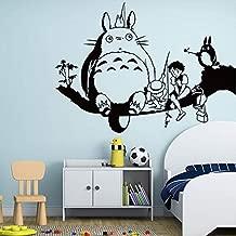 ملصق فني من الفينيل لغرف الأطفال مطبوع عليه Art Anime My Neighbor Totoro