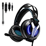 G-STORY Gaming Headset with Noise Cancelling...