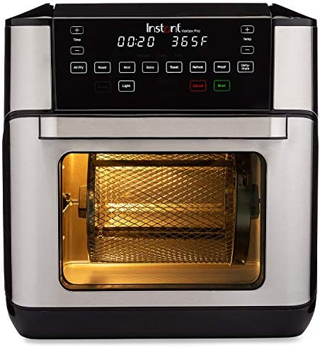 Instant Vortex Pro Air Fryer Oven 9 in 1 with Rotisserie 10 Qt EvenCrisp Technology product image