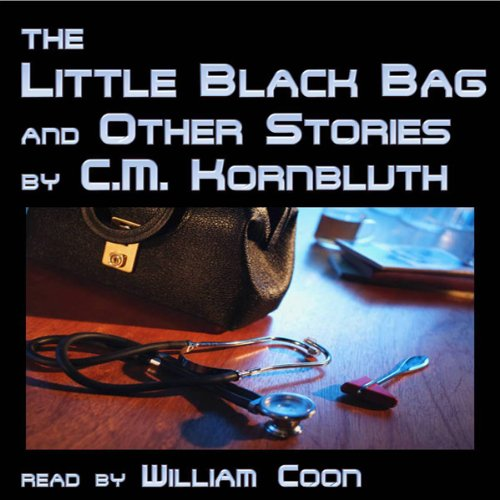 The Little Black Bag and Other Stories audiobook cover art