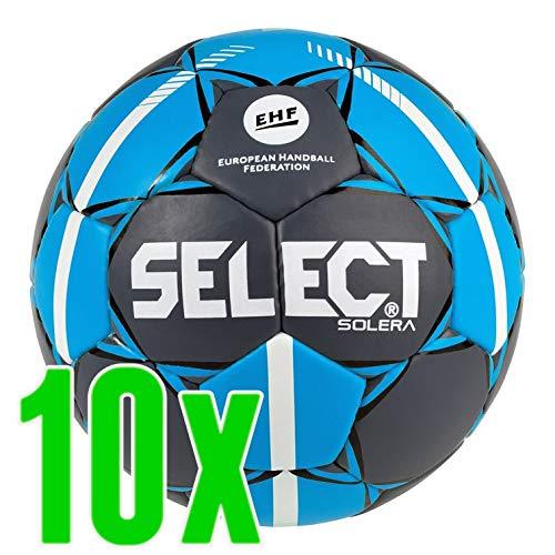 Select Handball Solera 10er Paket NEU, Wähle Deine Farbe:grau blau Weiss, Wähle Deine Größe:2