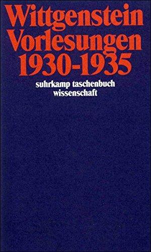 Vorlesungen 1930–1935: Cambridge 1930–1932 (suhrkamp taschenbuch wissenschaft)