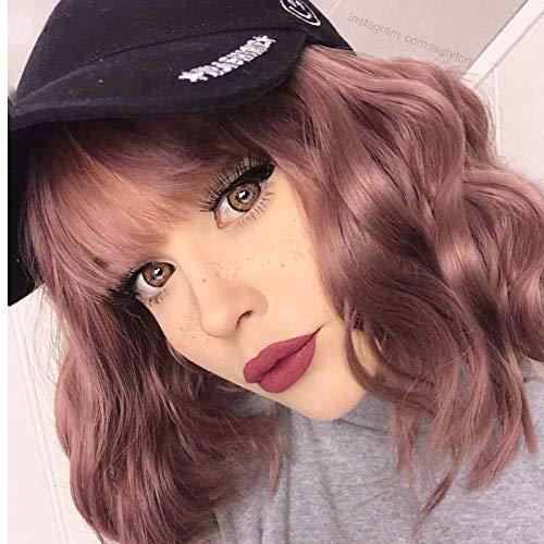comprar pelucas mujer pelo natural pelirrojo on-line
