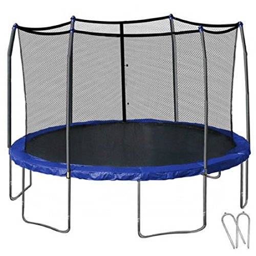 Skywalker Trampolines 14' Round Trampoline and Enclosure...