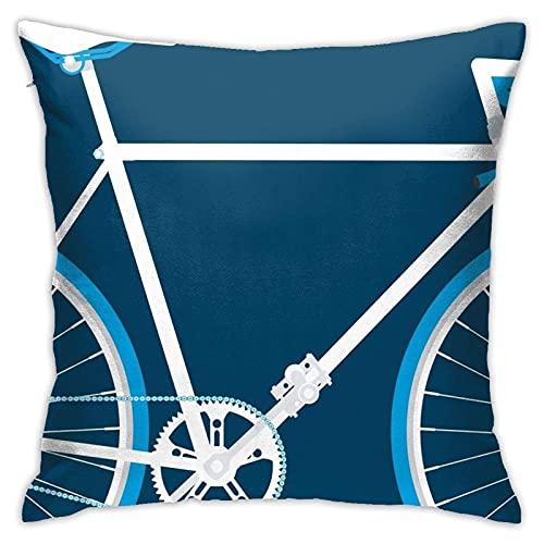 Sli8zhen Home & Games & Racer # 3 federe decorative per cuscini da divano 45,7 x 45,7 cm
