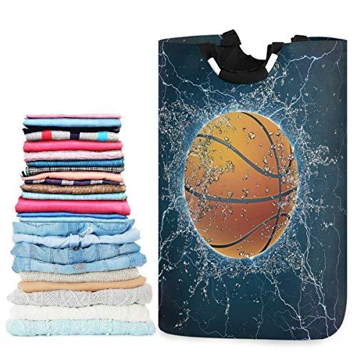 N\A Canasta de lavandería de Gran Capacidad para Baloncesto en el Agua Cestas de Almacenamiento de Tela Oxford Resistentes al Agua para Dormitorio, baño, Dormitorio, habitación de niños