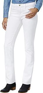 Tommy Hilfiger Women's Midnight Blue Wash Straight-Leg Jean