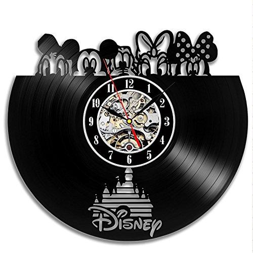 Disney Beliebte Charaktere Vinyl Wanduhr Geschenk-Idee