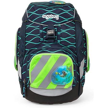 ergobag pack Sicherheitsset mit Reflektorstreifen - Sicherheits-Set mit Reflektorstreifen, pack, cubo und cubo light gekauft nach Juli 2019, Set 3-teilig