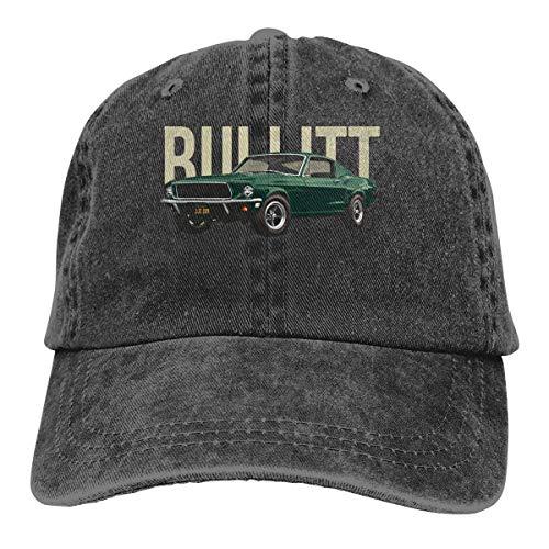 Ameok-Design Bullitt GT Classic Vintage Baseball Cap Trucker Hat für Damen und Herren