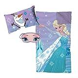 Frozen Let It Go 3 Piece Plush Sleepover Set