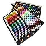 No es fácil de desvanecer Hexagonal Fácil de afilar Dibujo artístico Juego de lápices de colores profesionales 1 caja Juego de lápices de colores, 120 lápices de colores para niños para
