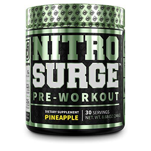 NITROSURGE Pre Workout Supplement